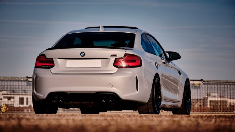 BMW M2 Competition Foto Bild Heck