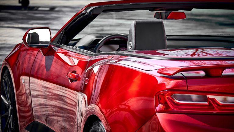Fotoshooting Chevrolet Camaro Cabrio